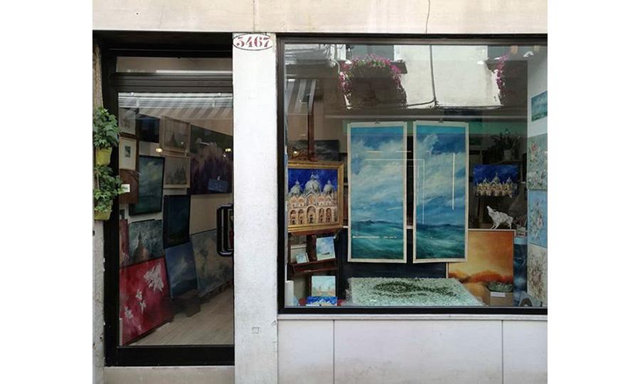 Andreina Battel - workshop window